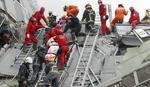 Dve osobe spasene, više od 100 ljudi zarobljeno pod ruševinama na Tajvanu