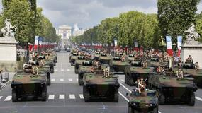"""Czołgi na ulicach Paryża - """"Dzień Bastylii"""""""