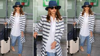 Best Look: Jessica Alba w płaszczu Related