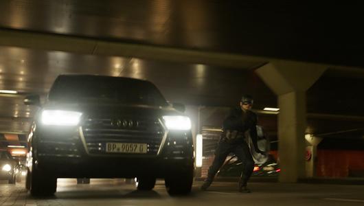 Kapitan Ameryka w Audi SQ7, Czarna Pantera w Audi Prologue