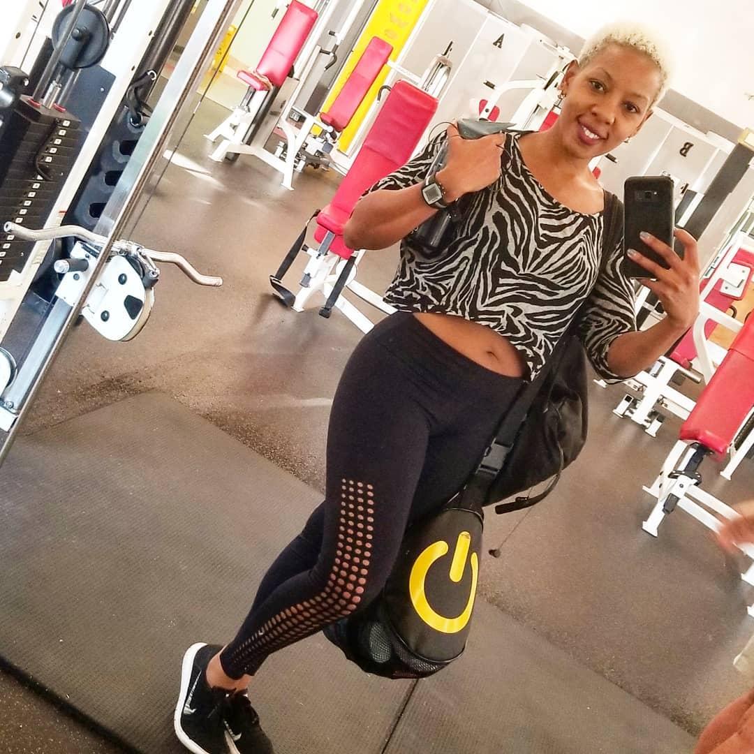 Jane Mukami, Kenyan certified fitness coach. (courtesy)