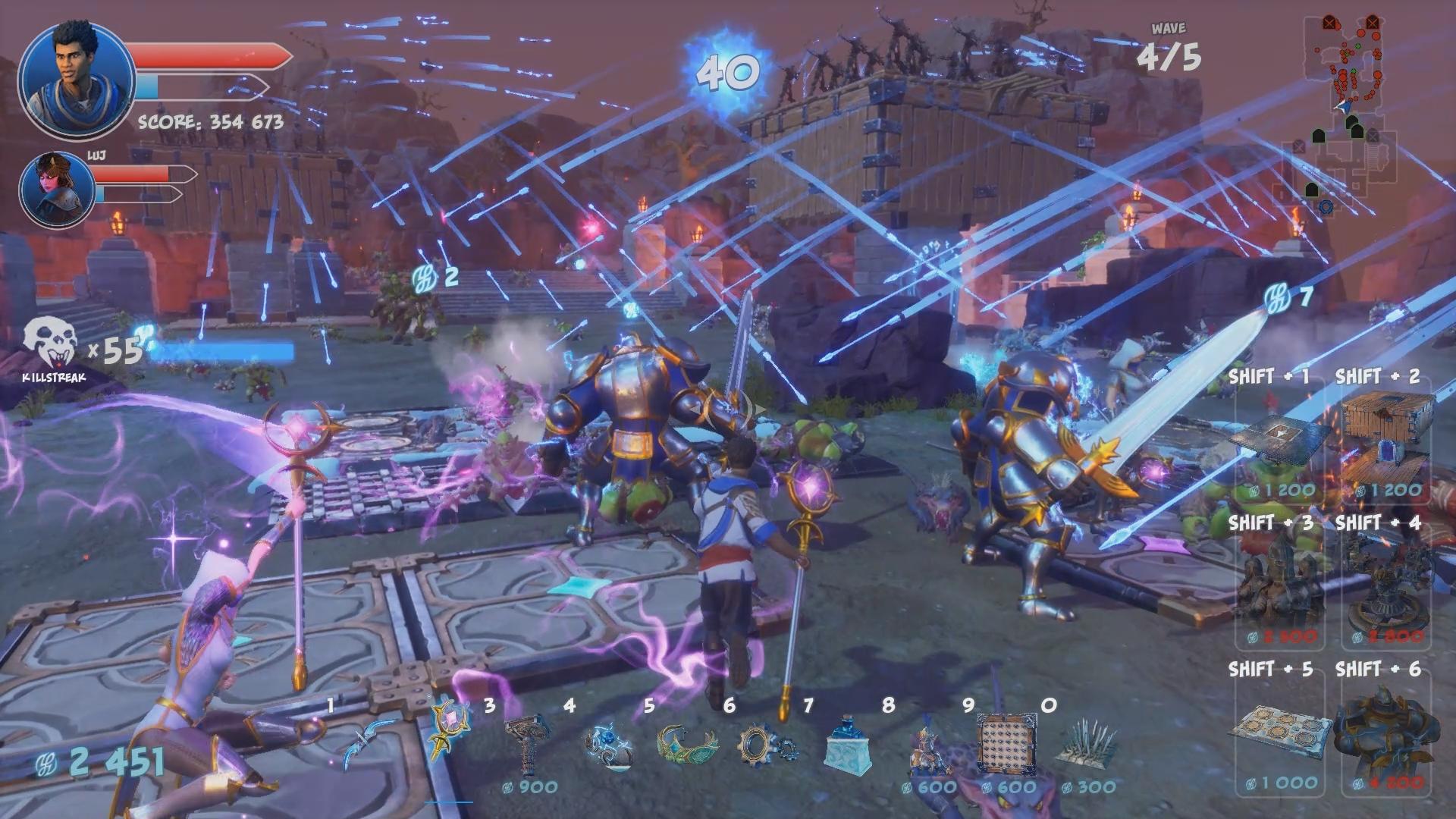 Vonkajšie bojiská sa vedia veľmi rýchlo zmeniť na jeden veľký farebný chaos.
