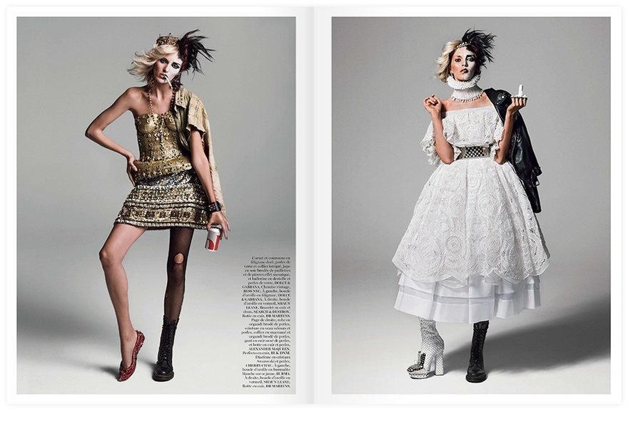 Anja Rubik / Vogue / Anja Rubik / Vogue / fot. Inez & Vinoodh