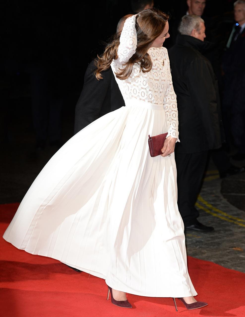 Kate Middleton na czerwonym dywanie