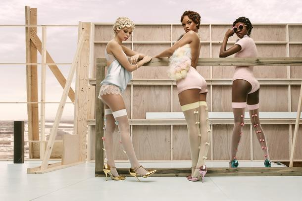 Rihanna x Stance Socks