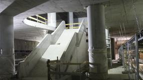 II linia metra: stacja Rondo ONZ już z peronami i schodami