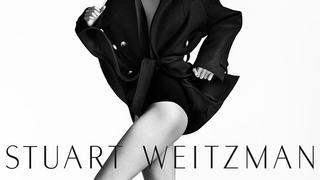 Gigi Hadid reklamuje luksusowe buty marki Stuart Weitzman