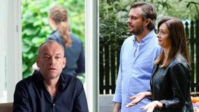 """""""Przyjaciółki"""": Marek Bukowski, Anita Sokołowska i Mariusz Bonaszewski na planie 8. sezonu serialu"""