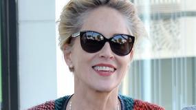 Naturalna Sharon Stone na zakupach