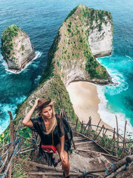 Deák Edina Karina egy pillanatra sem ijedt meg a szédítő magasságoktól