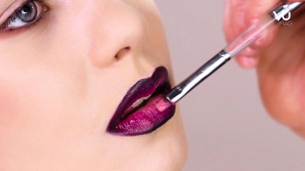 VU Beauty: Usta ombre – makijaż dla odważnych