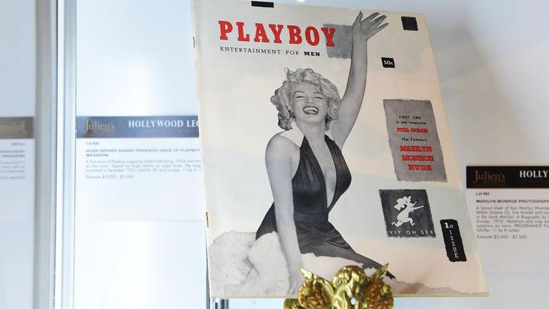Monroe volt az első Playboy címlaplány /Fotó: AFP