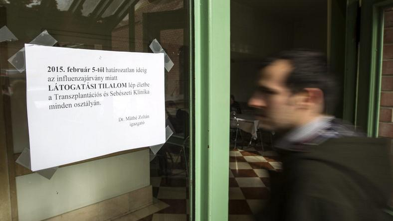 Több kórházban is tilos a látogatás /Fotó: MTI - Szigetváry Zsolt