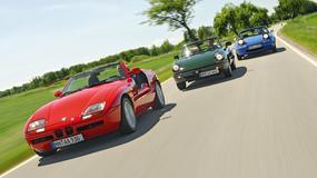 Roadstery lat 80. - Mazda MX-5 kontra Alfa Romeo Spider i BMW Z1