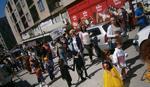 KLINCEZIJADA U MAJDANPEKU Deca maskirana u junake iz crtaća šetala gradom