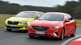 Skoda Superb kontra Opel Insignia - który daje więcej frajdy z jazdy?
