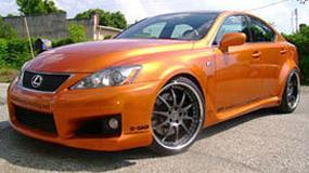 SEMA 2008: Lexus IS-F - turbo razy dwa