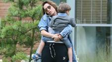 Olga Bołądź syna trzyma krótko