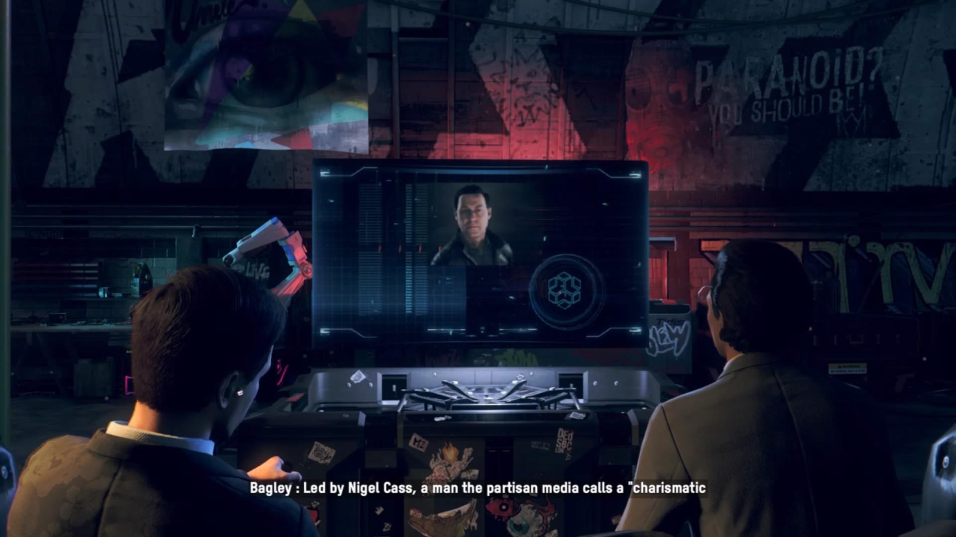 Veľa prestrihových scén v hre nenájdeš. Väčšina sa navyše točí okolo tímového brífingu.