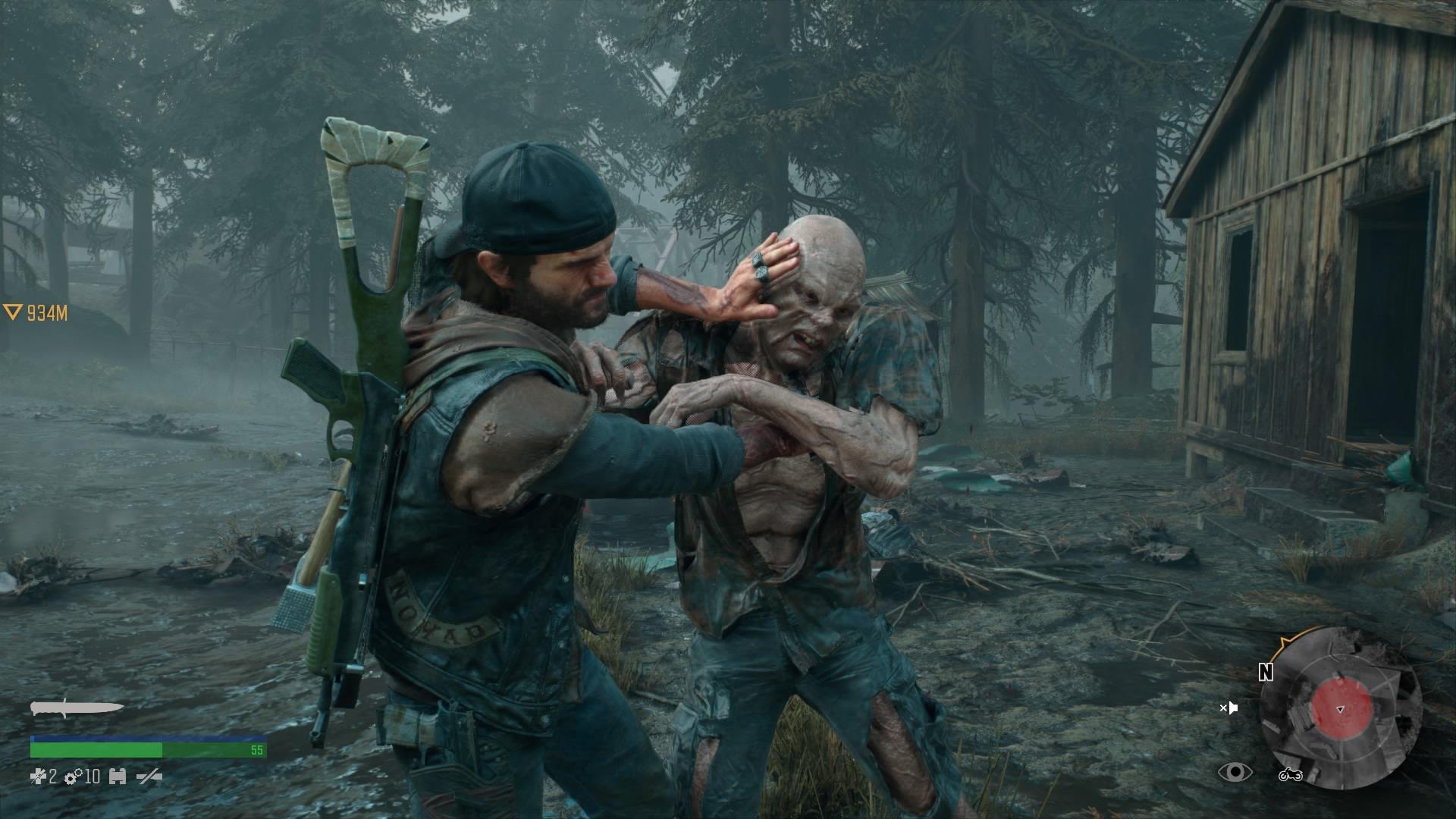 V hre je aj možnosť tichého, nenápadného postupu a boj so zbraňami na blízko.
