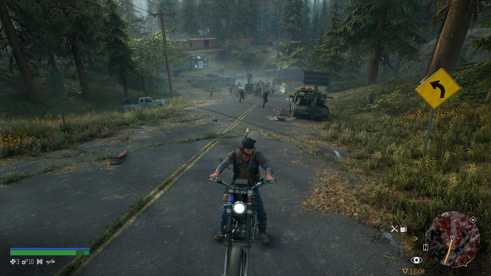 Krajinu budeme brázdiť predovšetkým na motorke a poslúži aj na rýchle úteky pred freakermi.