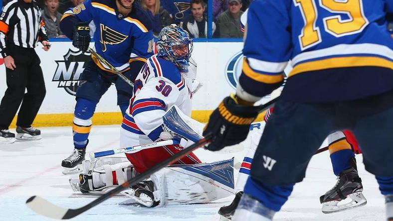 Henrik Lundqvistnál több védést még nem mutatott be Rangers-kapus /Fotó: Facebook/New York Rangers