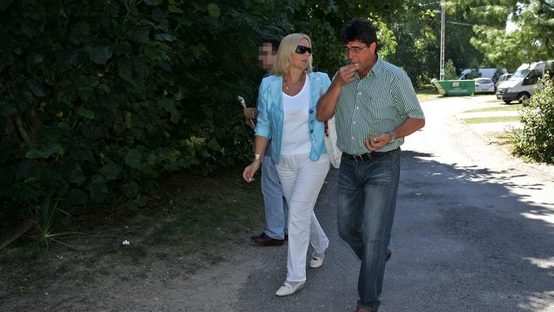 Nemcsák Károly és felesége, Darvasi Ilona hosszú évekig boldog házasságban élt, de ennek vége… / Fotó: MTI