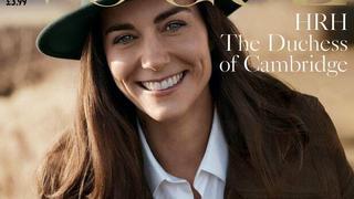 Kate Middleton na swojej pierwszej oficjalnej okładce