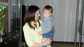 Dawno niewidziana Monika Pyrek z synem