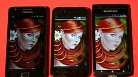 Bitwa na ekrany! Galaxy S II vs. Xperia Arc vs. LG Black
