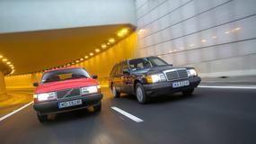 Szwedzka stal kontra niemiecka technika: Volvo 740 kombi kontra Mercedes S124