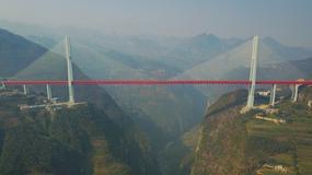 W Chinach otwarto najwyższy most świata