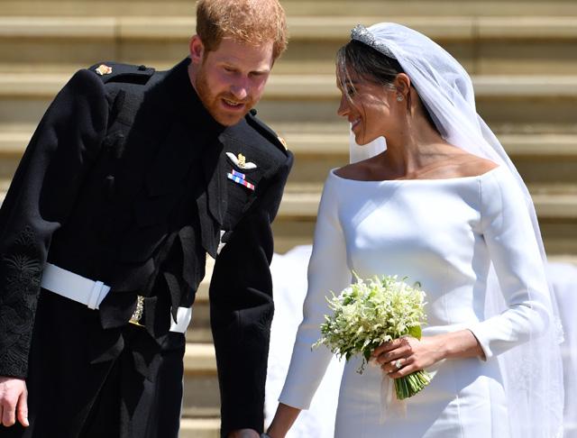 Hoppa Harry Herceg Exenek Arca Mindent Elarult Amikor Meglatta A Menyasszonyt Glamour
