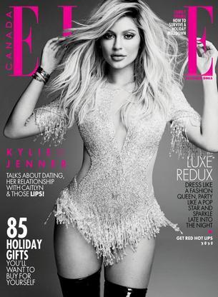 "Seksowna Kylie Jenner bohaterką grudniowego Elle Canada"""
