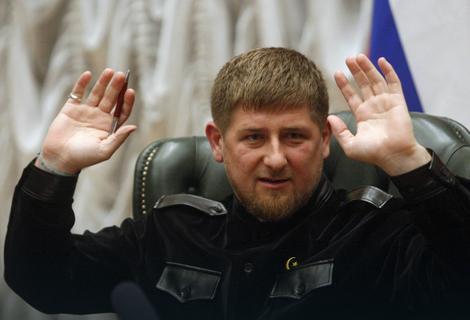 Рамзан Кадиров има силна поддршка од Владимир Путин