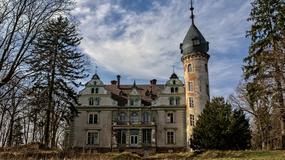 Opuszczony pałac w Kruszewie (woj. wielkopolskie)