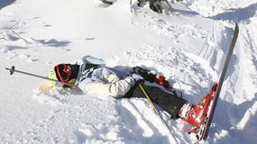 Więcej wypadków narciarskich podczas ferii