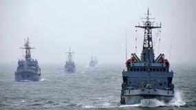 Ćwiczenia okrętów 3 Flotylli Okrętów z Gdyni
