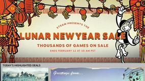 Steam - wyprzedaż z okazji Chińskiego Nowego Roku