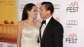 Angelina Jolie i Brad Pitt błyszczą na czerwonym dywanie