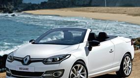 Renault Mégane Coupé-Cabriolet po face liftingu