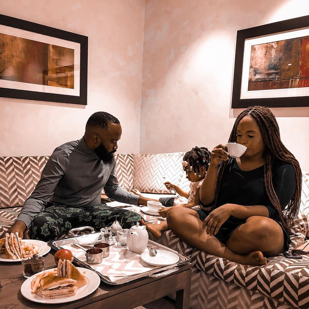 37dcfad363da78aa4d0899af2bf8d44a - 'It wasn't love at first sight' - Noble Igwe says as he celebrates daughter on her birthday