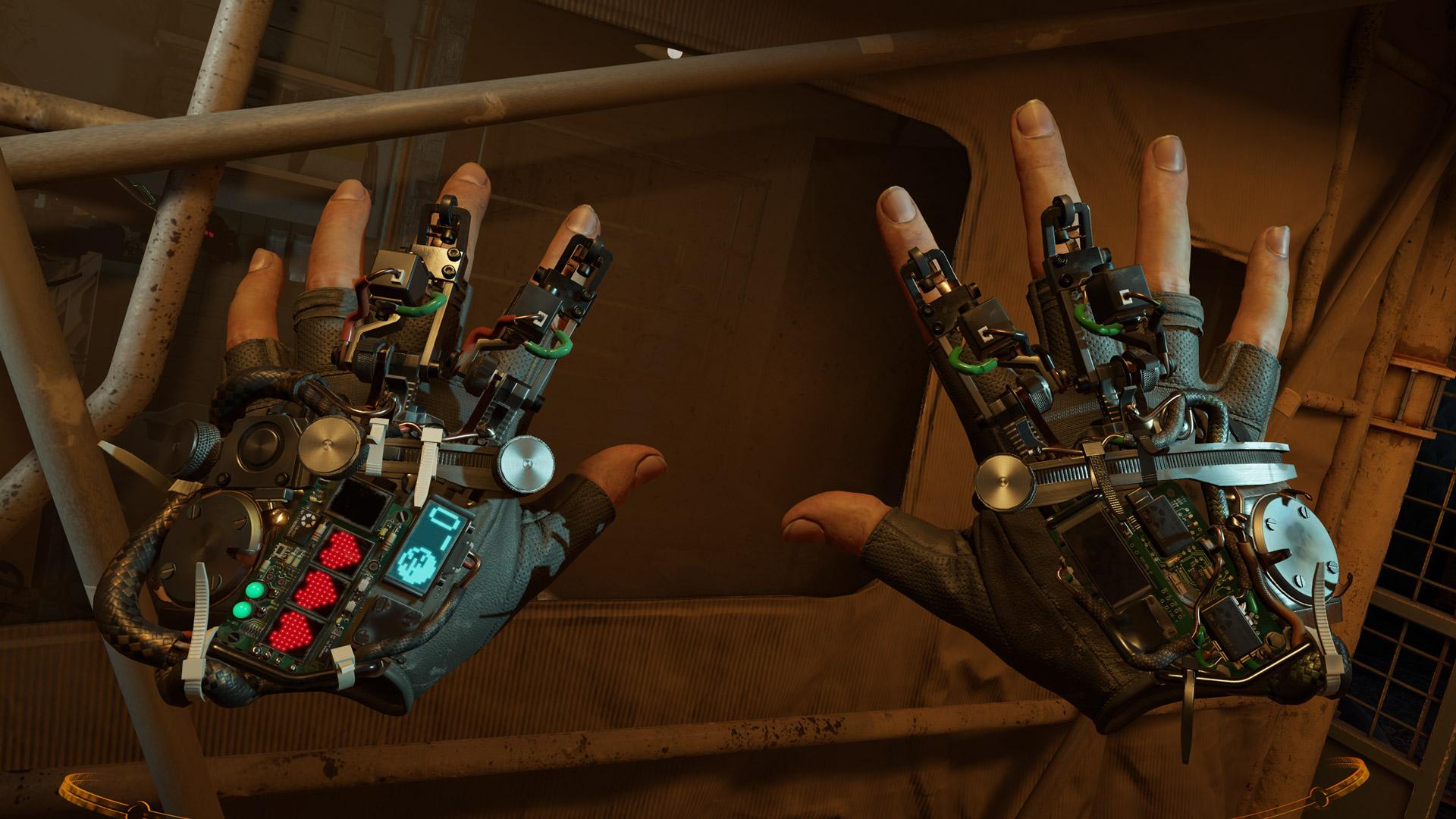 Ukazovateľ života nájdeme na hráčových rukaviciach.