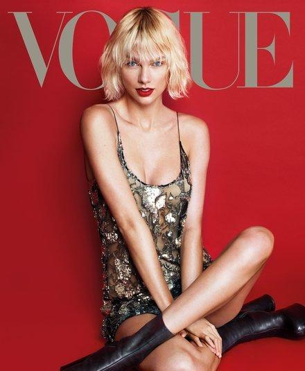 Taylor Swift na okładce Vogue US