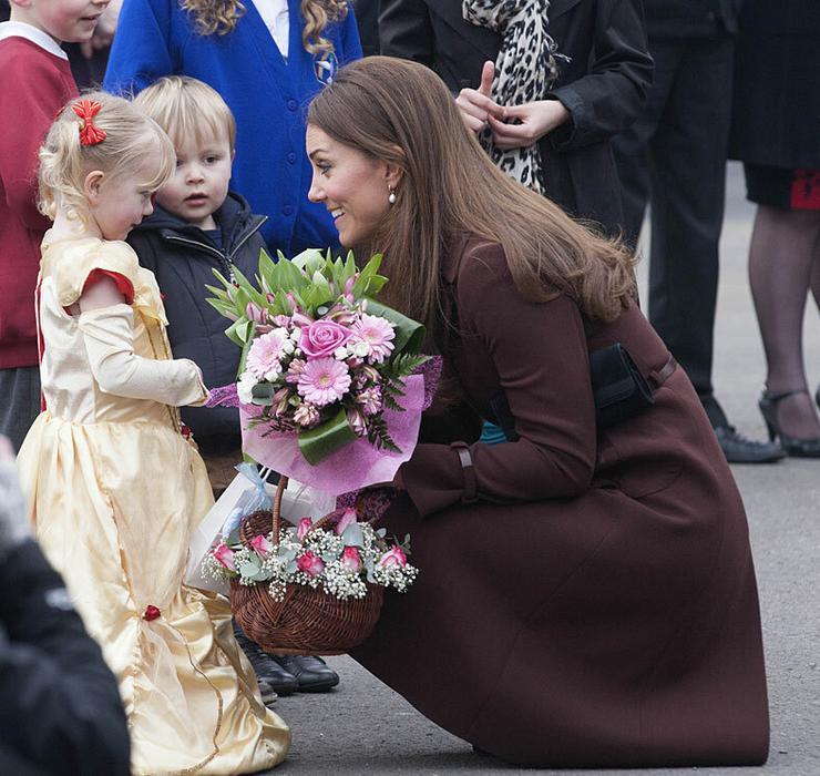 Katalin hercegné is komolyan veszi a kisciket