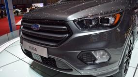 Ford Kuga w nowej odsłonie i mocna Fiesta ST200 (Genewa 2016)