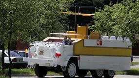 Rekonstrukcja papamobile z 1979 roku