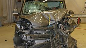EuroNCAP: Fiat Doblo tylko na 3 gwiazdki