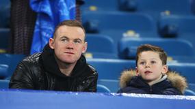 Wayne Rooney zabrał syna na mecz Evertonu