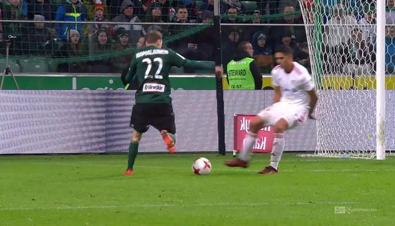 Legia - Górnik Z. (1:0): Loska w końcu skapitulował! Świetnie spisującego się bramkarz Górnika na raty pokonał Hamalainen!